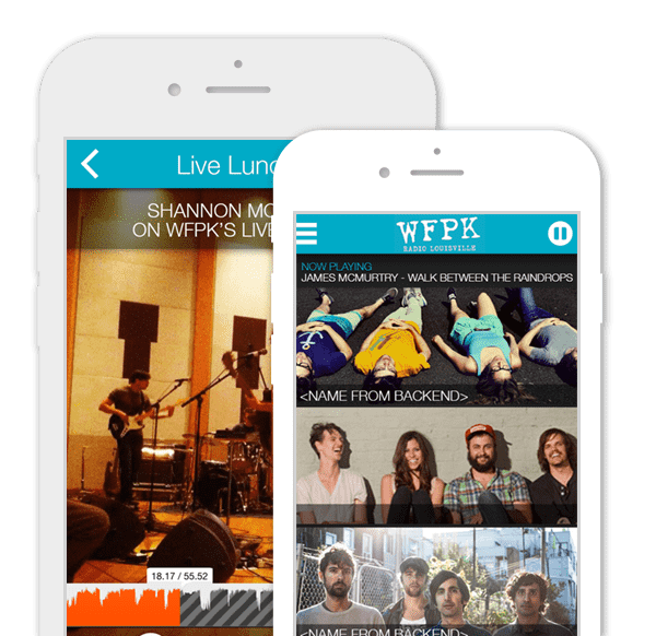 Streaming Radio App – WFPK
