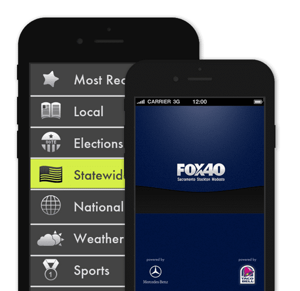 News Channel App – Tribune Fox40 Sacramento