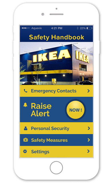Ikea – Employee Safety Handbook App