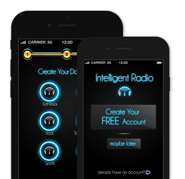 Streaming Radio App – Intelligent Radio